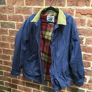 Men's Medium Navy Barn Jacket